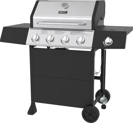 Backyard Grill 4 Burner Propane Bbq With Side Burner 720 0789d Delivery Cornershop Canada