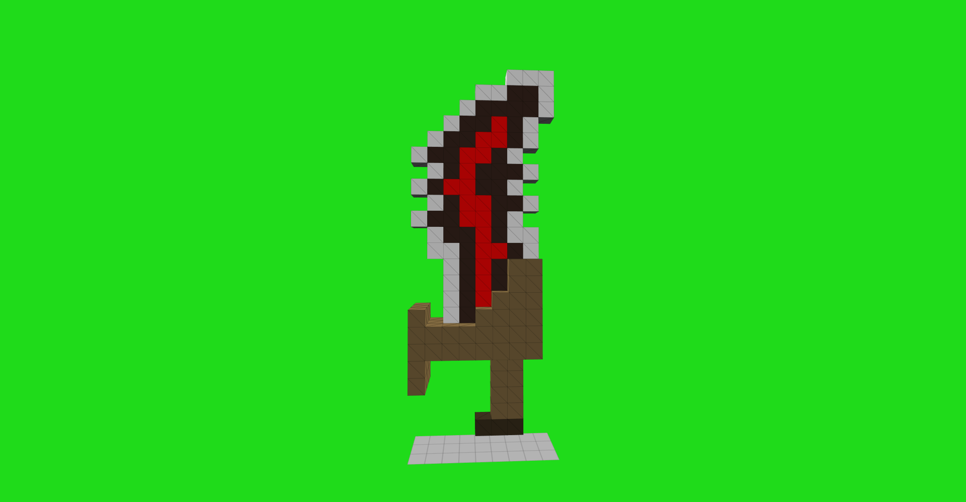 Weapons Models Cube World Mods