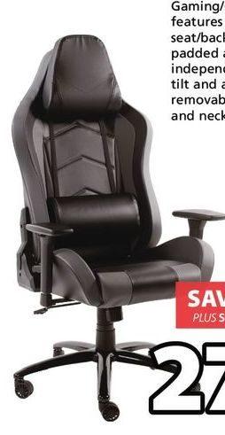 desk chair jysk designer covers gregory hills nsw loftet gaming office redflagdeals com 279 00 20 off