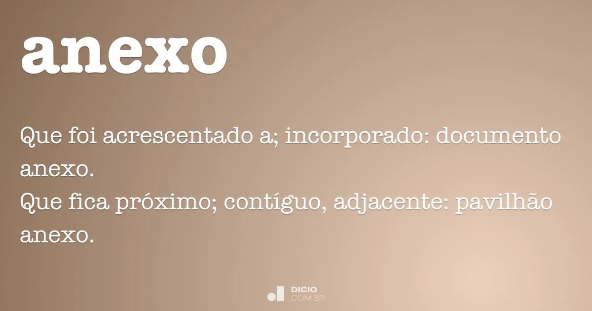 Anexo  Dicio Dicionrio Online de Portugus