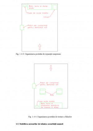 Proiectarea unei statii autoservice destinata intretinerii