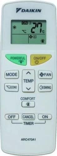 Aer conditionat Daikin FTX35KM-RX35KM Inverter 12000 BTU Clasa A+ Programator 24 de ore Filtru Fotocatalitic Mod Confort FTX35KM/RX35KM