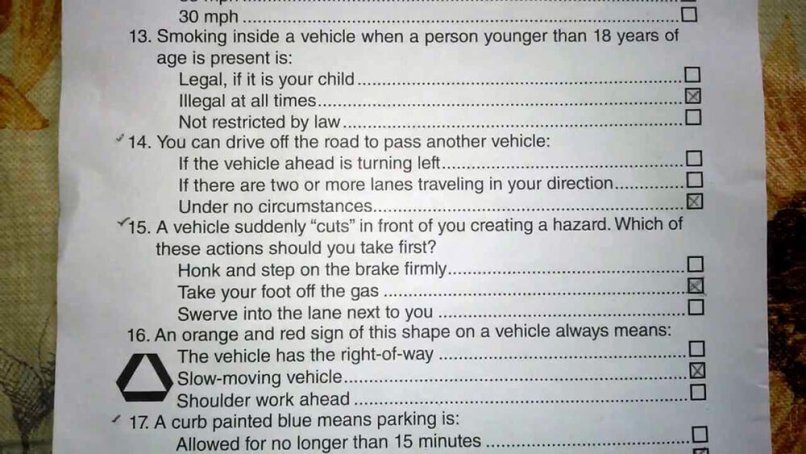 Permit Learner S Requirements