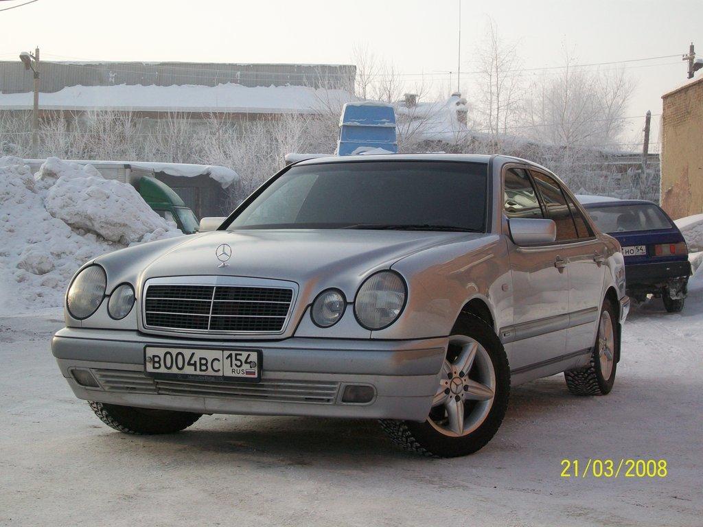 hight resolution of mercedes benz e class 1997