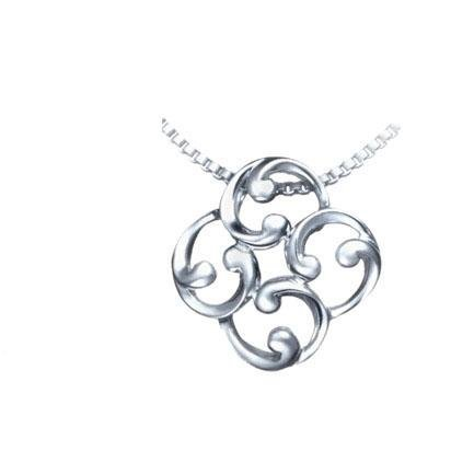 silver necklace n1