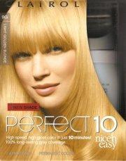 clairol perfect 10 permanent color