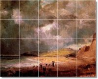 Constable Country Murals Wall Room Tile Interior Modern ...