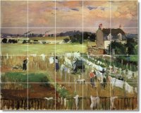 Morisot Country Murals Floor Wall Kitchen Decor Remodel House