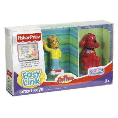 Fisher Price EasyLink Figures Clifford and Arthur 2Pack