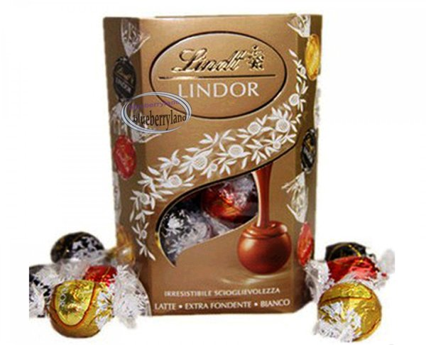 Lindt Lindor Milk White 60 Dark Chocolate Truffles Assorted Balls Snack Sweets