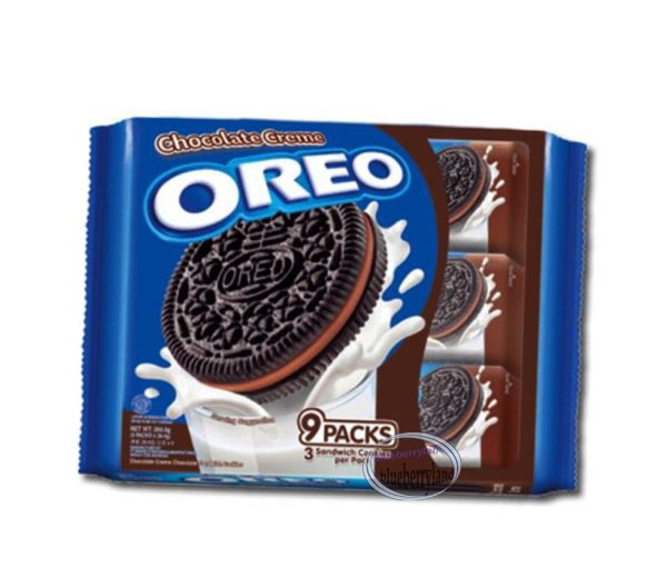 Oreo Chocolate Cream flavor Sandwich cookie Biscuit packs