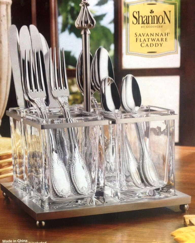 kitchen utensils holder and bathroom cabinets shannon flatware caddy