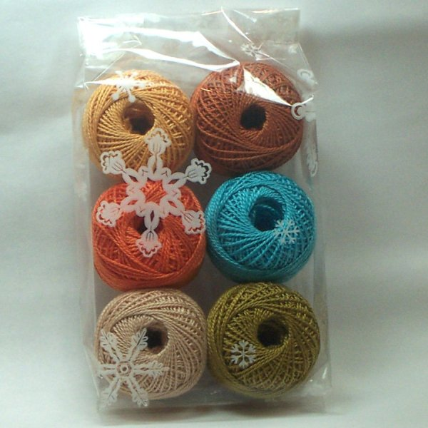 Mexico Collection - Pearl Cotton Size 8 Valdani