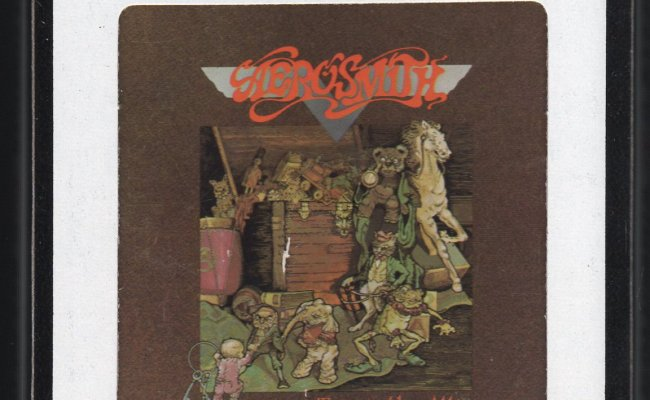 Aerosmith Toys In The Attic 1975 Cbs A27 8 Track Tape
