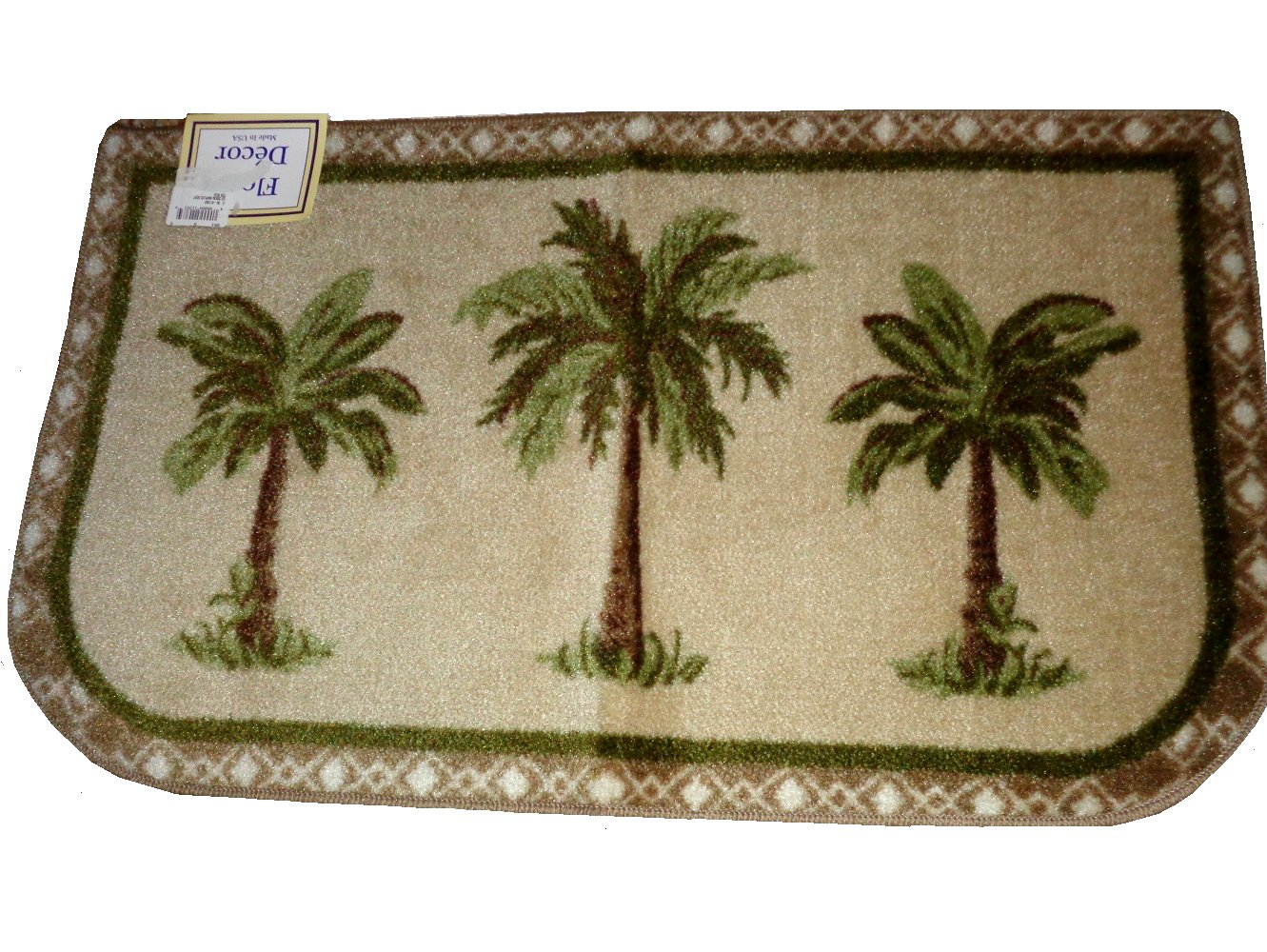 palm tree kitchen decor child play tropical trees rug