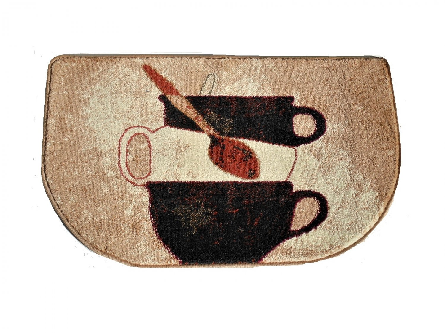coffee kitchen rugs fire extinguisher stacked cups rug