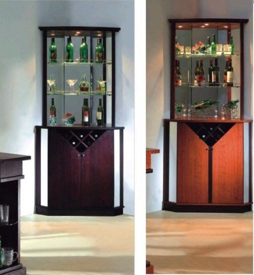 ESFJB711 Modern European Style Corner Bar with Interior