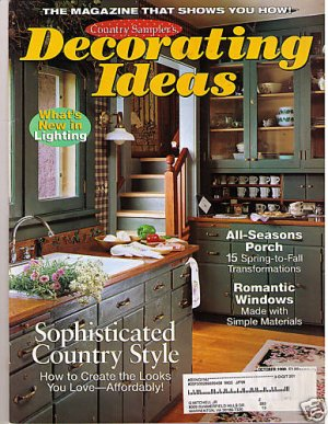 Country Samplers Decorating Ideas October 98 Magazine