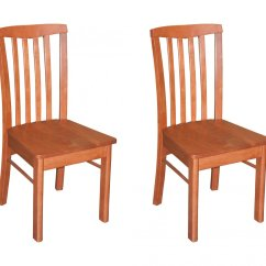 Cherry Wood Chairs Pottery Barn Chair And A Half Slipcover Set Of 2 Hartland Dining Room With Seat In