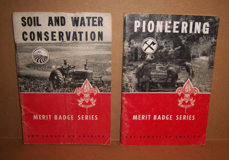 Boy Scouts Manuals Pioneering Soil Water