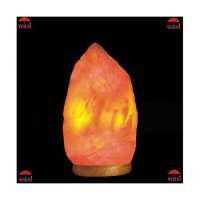 Himalayan Crystal Salt Lamp Negative Ions Air EMF Protection