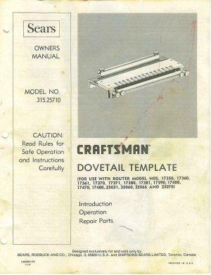 Craftsman Router Manual Pdf