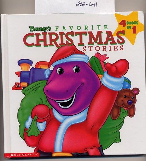 barney s favorite christmas