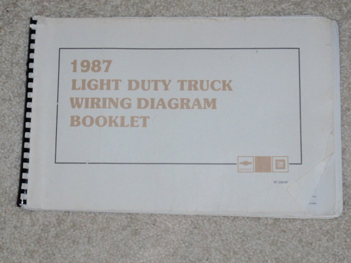 1987 Chevy Sprint Electrical Diagnosis Service Manual Wiring Diagram