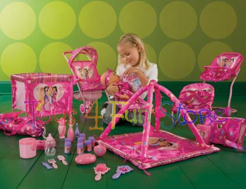 baby alive high chair chicco cover replacement girls play doll + huge set of furniture - carrier crib swing more