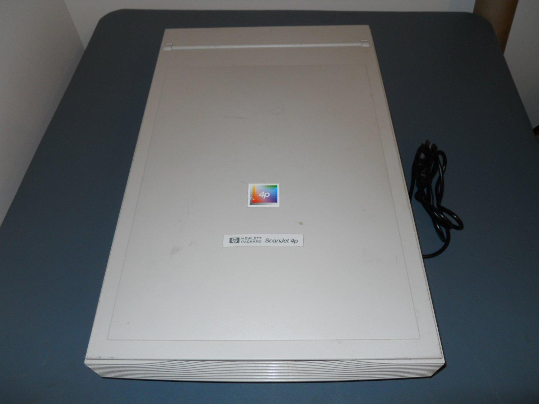 Old Hp Scanjet 4p Flatbed Scanner