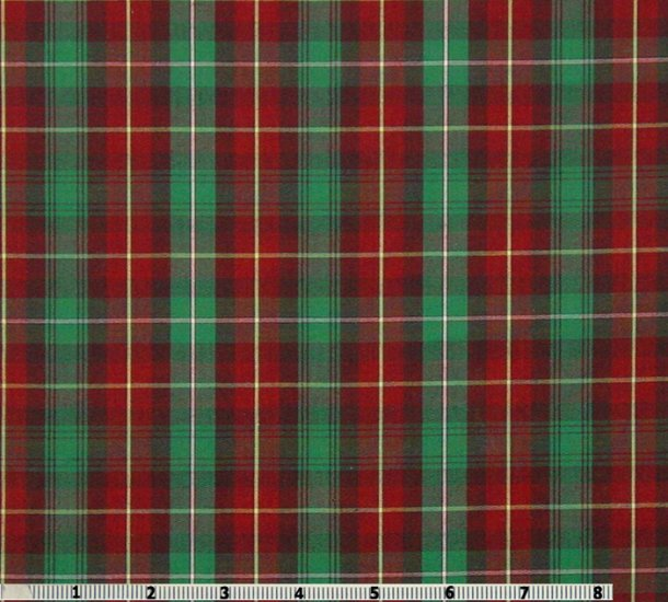 PRINCE EDWARD ISLAND provincial tartan 65 polyester35 cotton shirting