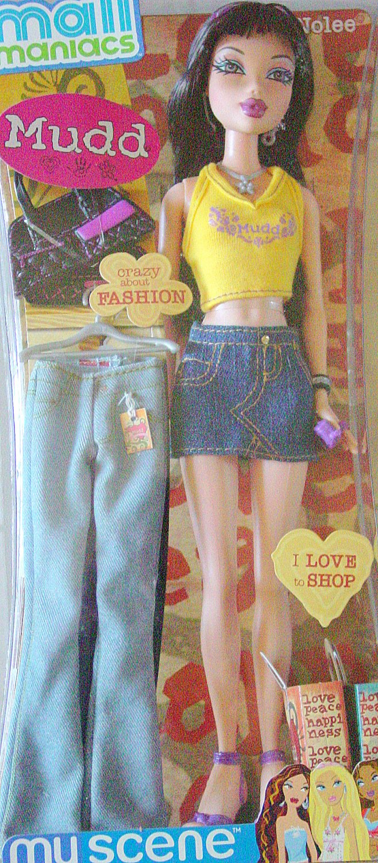 MY SCENE Mall Maniac Nolee Barbie Doll New in Box