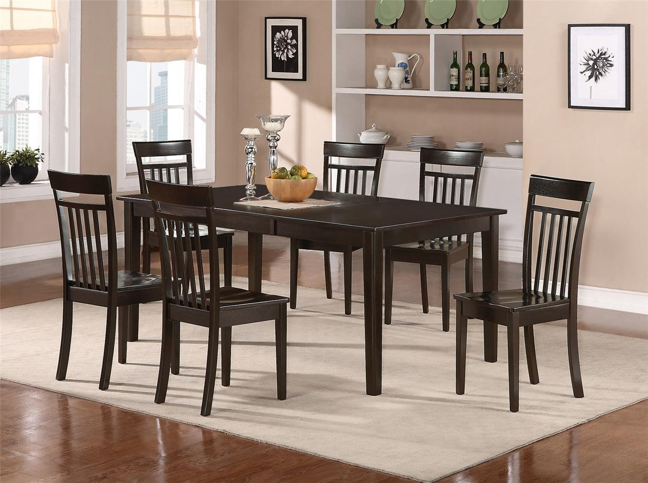 rubberwood butterfly table with 4 chairs turkey hunting 5pc henley dining capri wood seat in