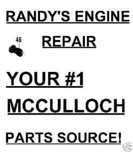 Carburetor Carb Adjustment Boot 87665 McCulloch 10-10 700