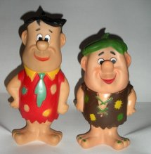 Fred Flintstone and Barney Rubble Figures