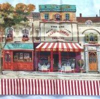 """CAFE DE PARIS Tier Curtain KITCHEN 58"""" x 30"""" French ..."""
