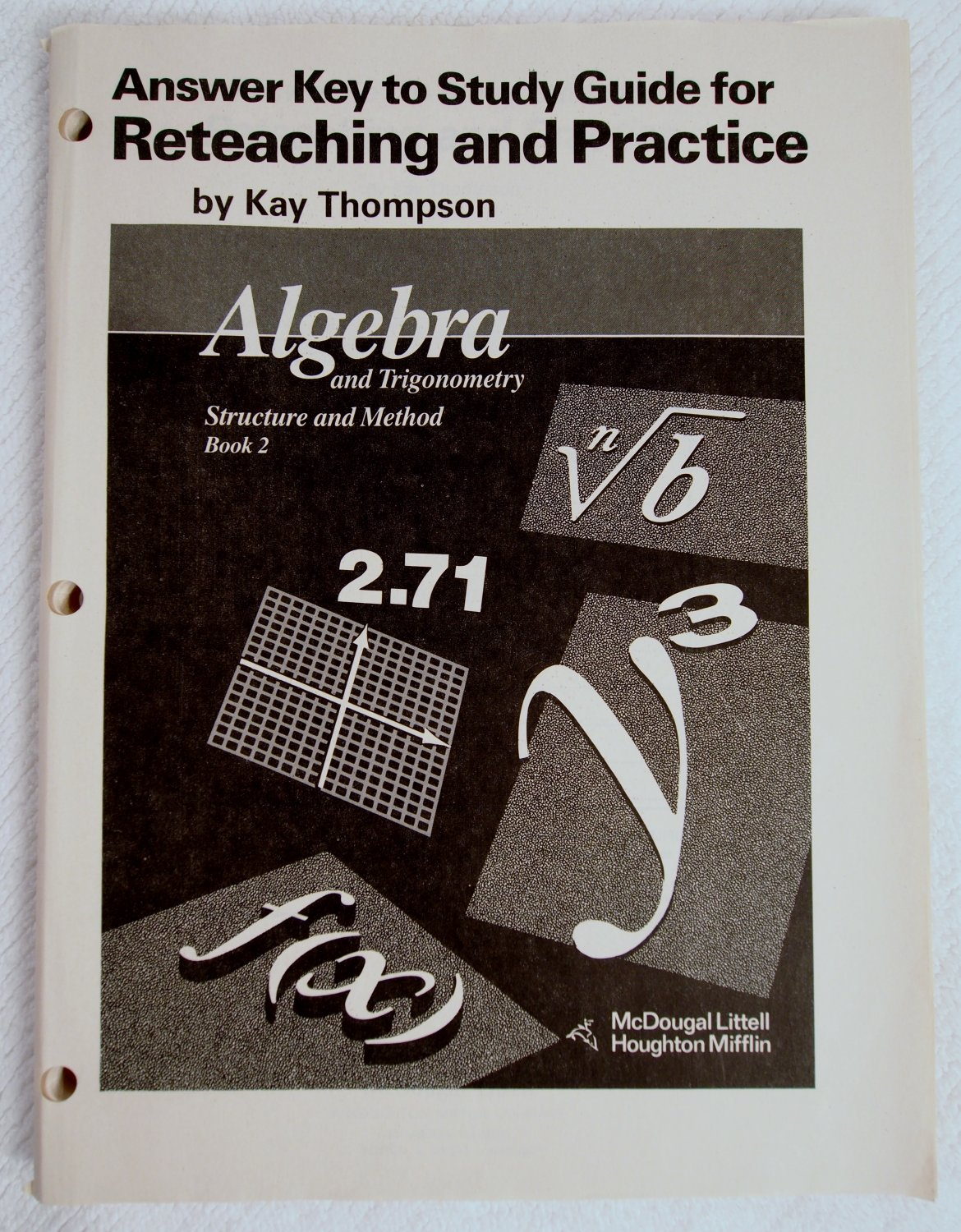 Answer Key To Study Guide For Reteaching And Practice