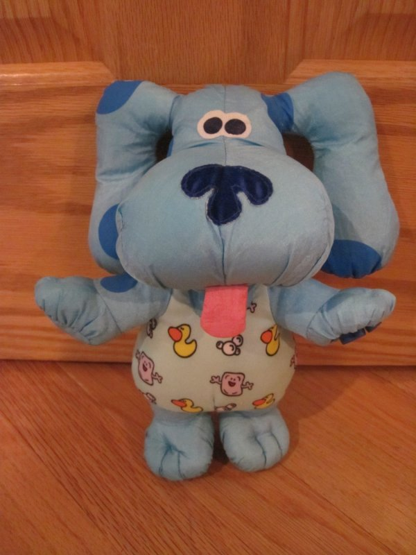 Blues Clues Bathtime Blue Tyco 10 Water Pal Toy 39374