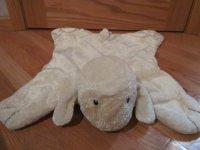 Baby Gund Cream Comfy Cozy Lamb Security Blanket Lovey ...