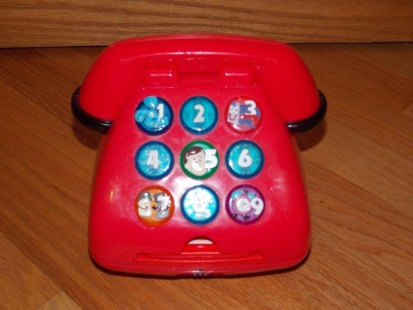 Blues Clues 1999 Mattel Red Talking Light Telephone