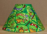 Teenage Mutant Ninja Turtles fabric Lamp Shade Lampshade ...