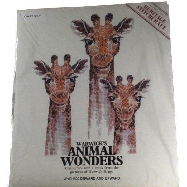 Heritage Stitchcraft Warwick' Animal Wonders Whou690
