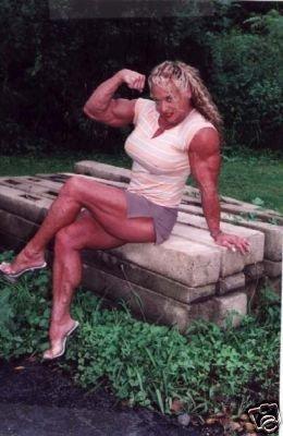 Female Bodybuilder Trudy Ireland WPW719 DVD or VHS