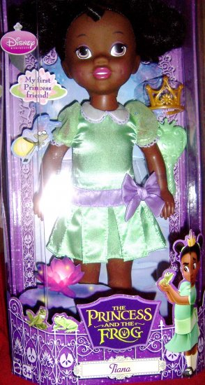 Princess  Frog Tiana Toddler 14 Inch Doll