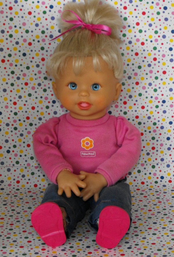 9 Sold Fisher Little Mommy Baby Bilingual Doll