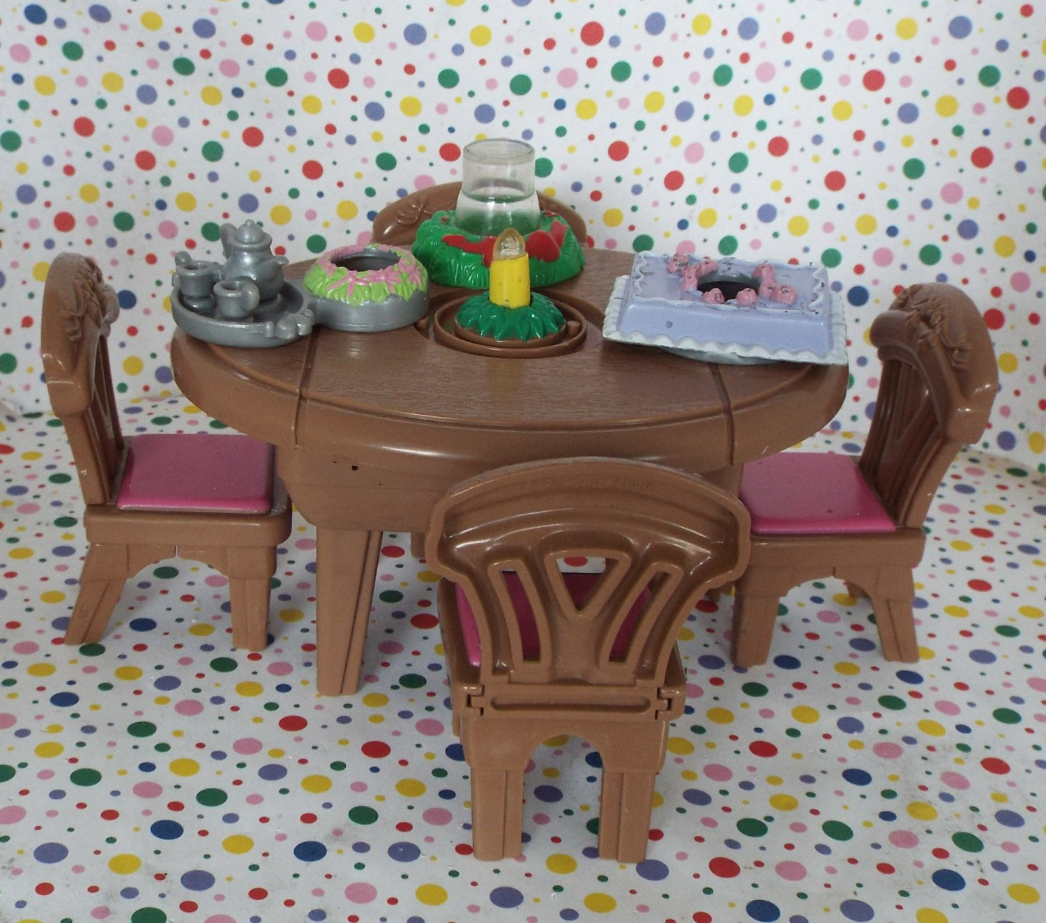 Fisher Price Table And Chairs Fisher Price Loving Family Dollhouse Musical Special