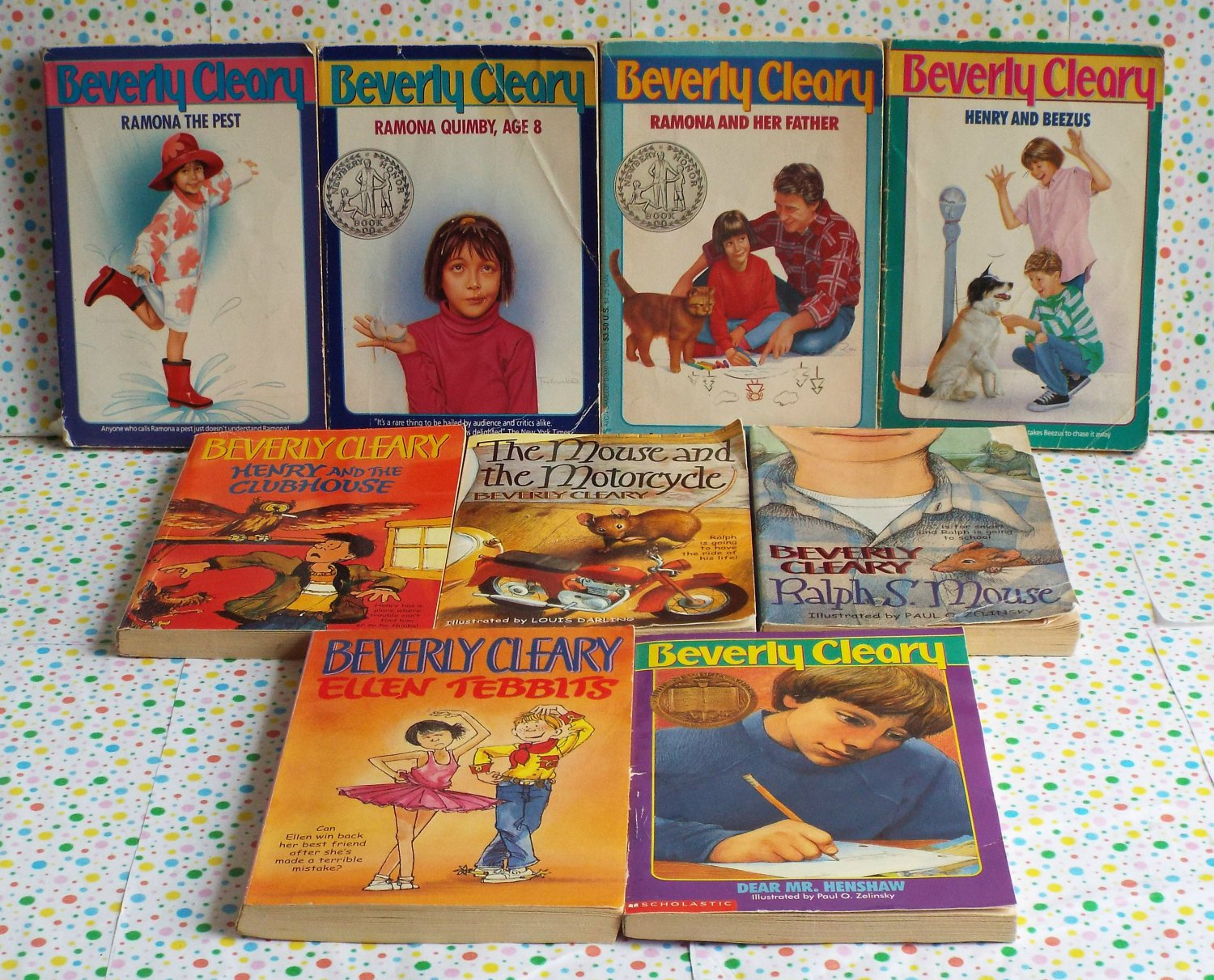 Beverly Cleary Ramona Ralph S Mouse Dr Mr Henshaw