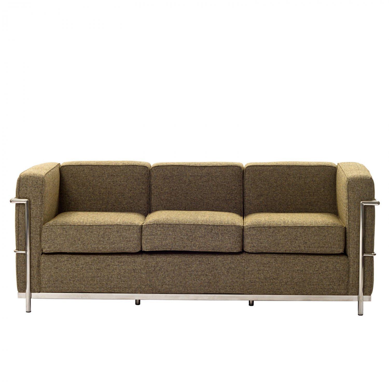 oatmeal sofa sofas chaise longue baratos alicante le corbusier style