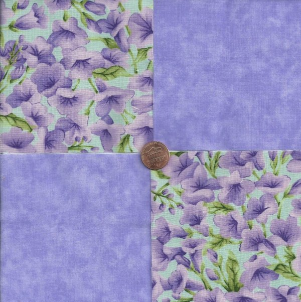 Orchids Lavendar Purple Lilac Solid 100 Cotton Fabric