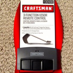 Craftsman Garage Door Opener Yellow Light On Sensor Volkswagen Jetta Radio Wiring Diagram Remote 30498 53681 53879